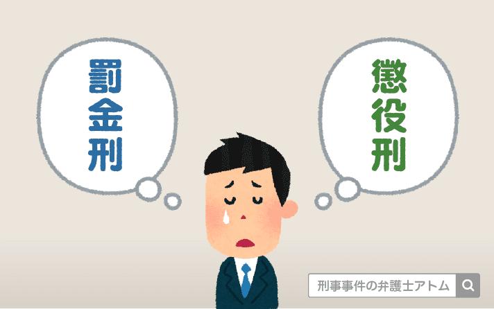 罰金刑・懲役刑 アトム法律事務所